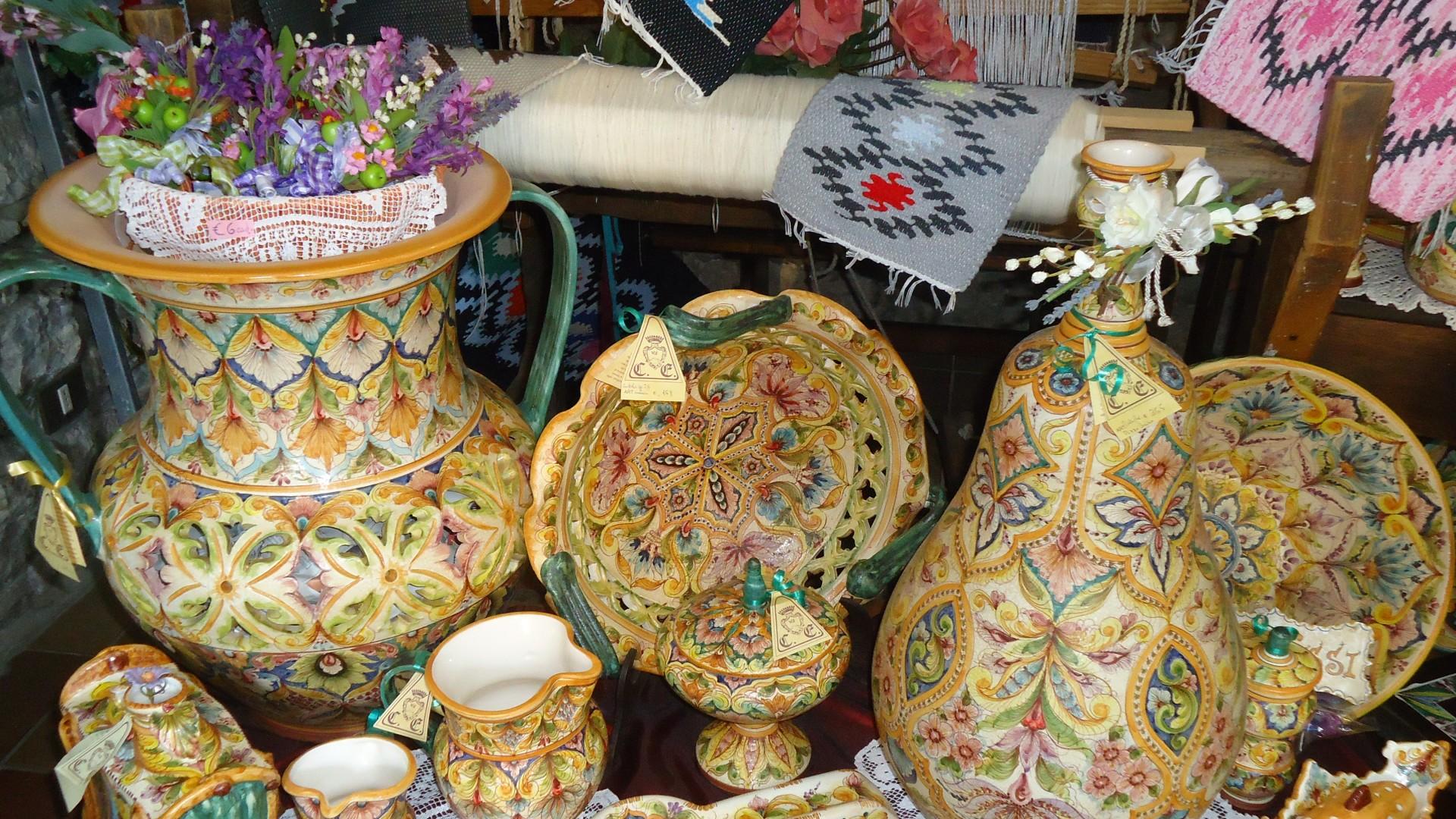 I 4 souvenir tipici realizzati da artigiani trapanesi
